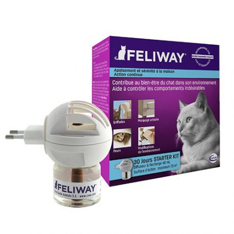 Feliway Diffuseur & Recharges - Anti-stress pour chat