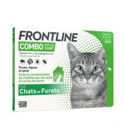 Frontline Combo Katze- Pipetten gegen Flöhe und Zecken